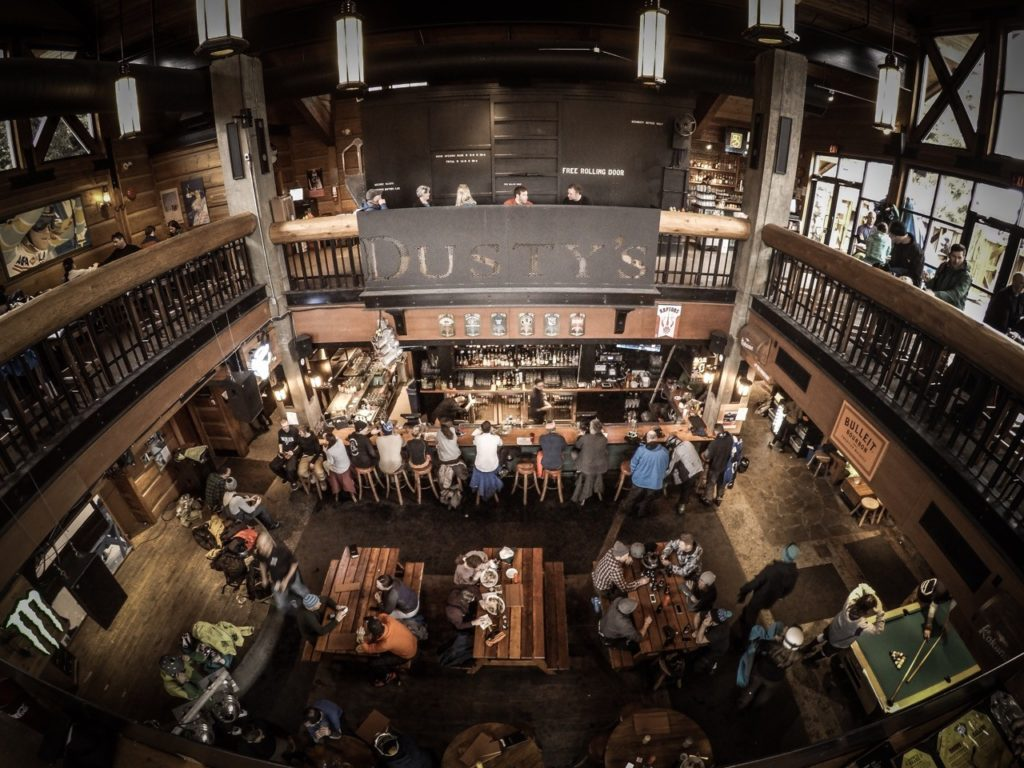 Dusty's Bar & BBQ in Creekside, Whistler. Image: Eric Poulin