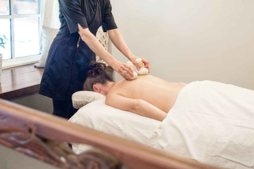 Relax and unwind with a massage treatment at The Spa at Nita Lake Lodge.