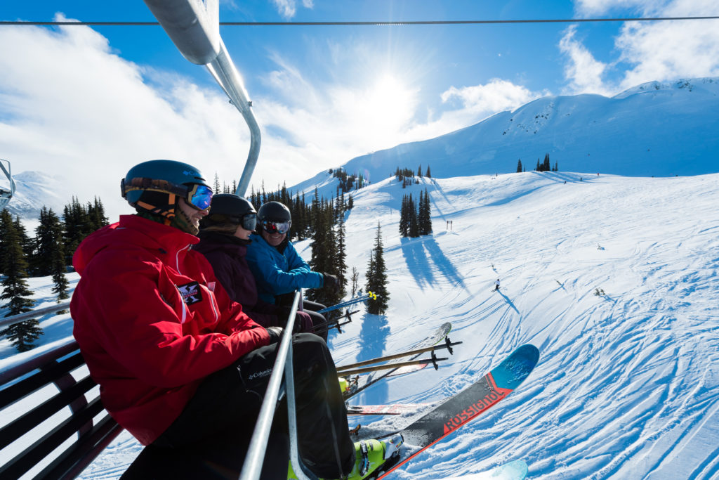 Opening day at Whistler Blackcomb. Photo: Tourism Whistler/Mike Crane