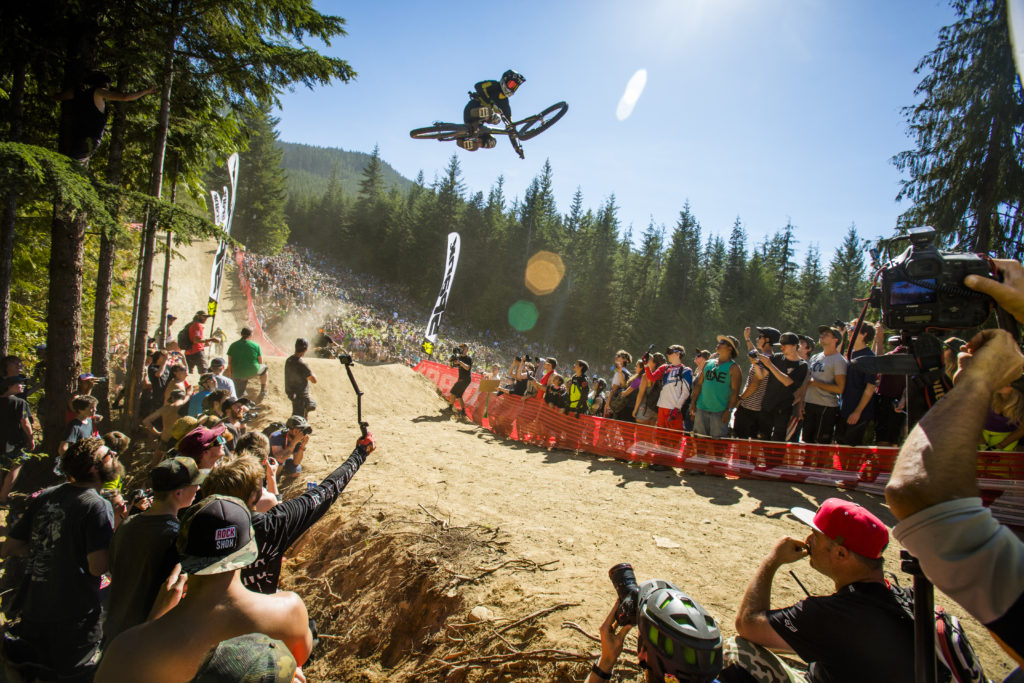 Official Whip-Off World Championships, Crankworx, Whistler. PC: Tourism Whistler/Justa Jeskova