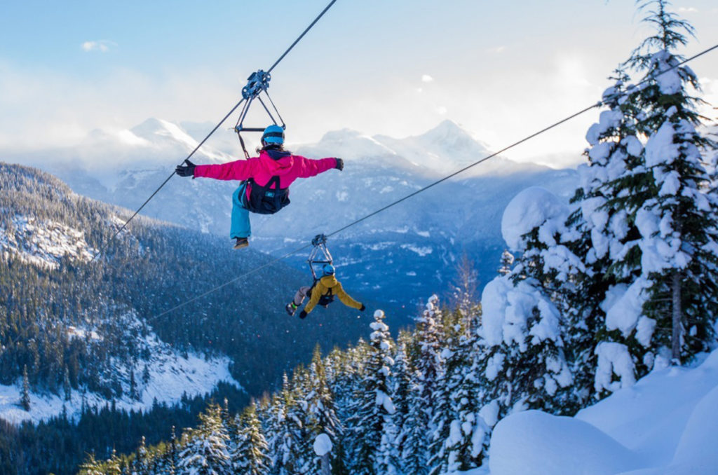 The Gift of Flight with Superfly Ziplines, Whistler