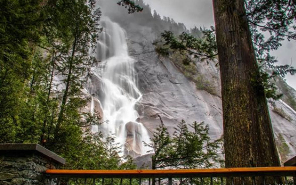 Shannon Falls is BC's third tallest waterfall