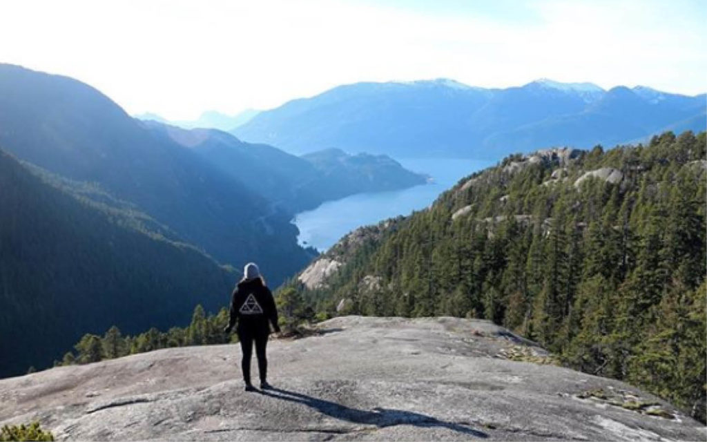The Stawamus Chief is the second largest piece of freestanding granite in the world.