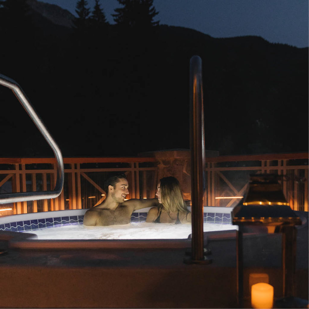 Get Cozy in Creekside at The Spa!