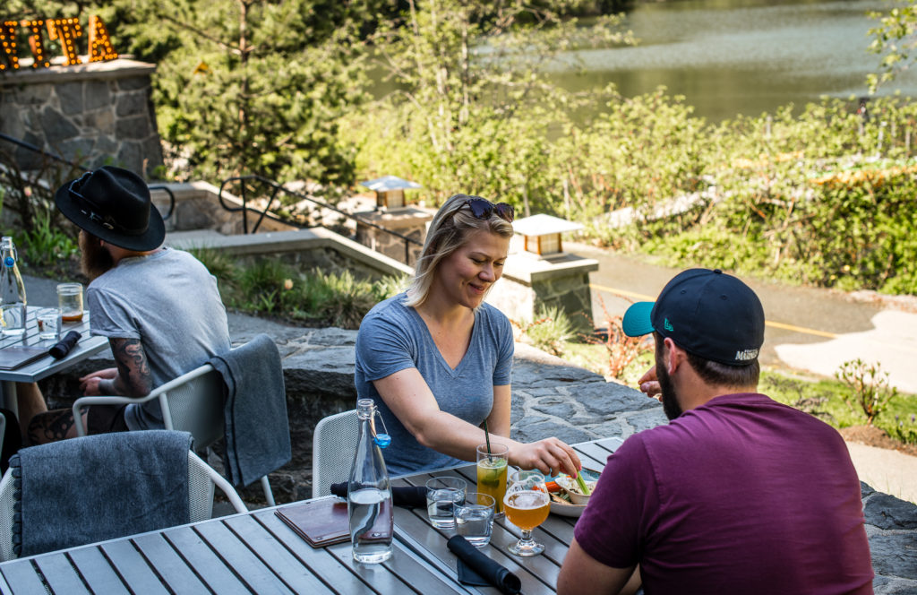 Cure Lounge & Patio has a great patio in Whistler Creekside