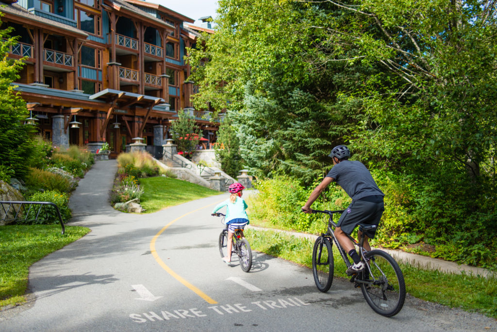 Whistler's Valley Trail is great for a cruise!