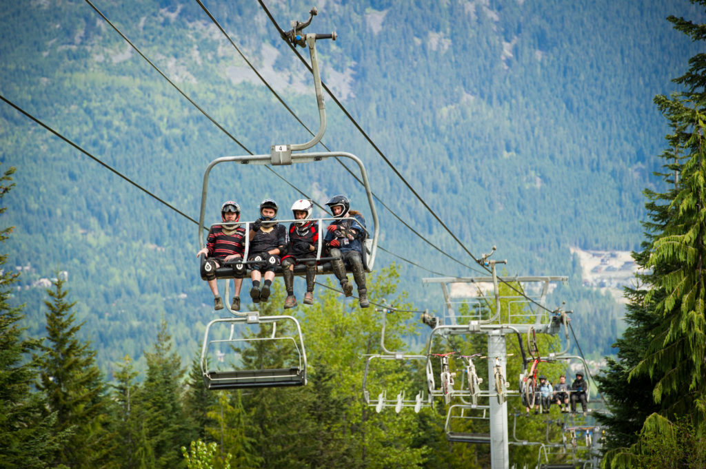Opening day at the Whistler Bike Park. PC: Tourism Whistler/Mike Crane