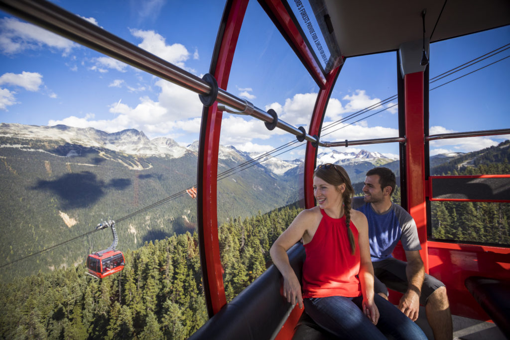 Gondola Sightseeing In Whistler