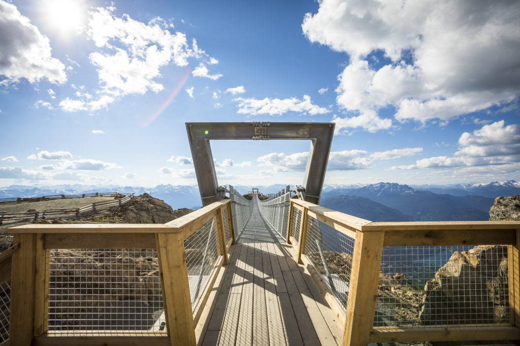 Whistler's Cloudraker Suspension Bridge