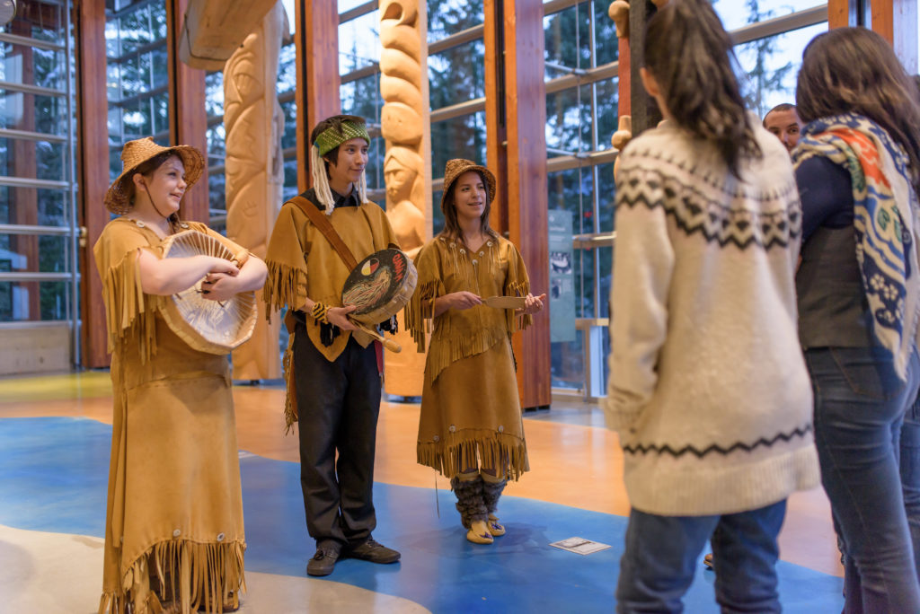 The Squamish Lil'Wat Cultural Centre is a feast for the senses.  PC: Tourism Whistler/Destination Canada