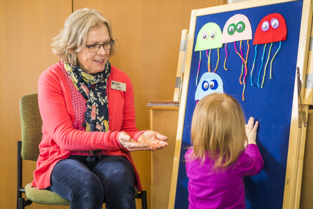 Preschool Story Time at Whistler Public Library.