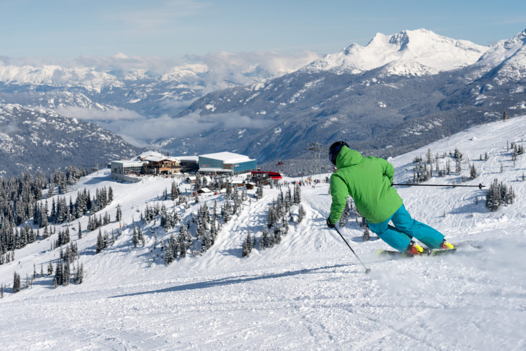 There's more than enough space to explore on Whistler Blackcomb. PC: Tourism Whistler/Vince Emond