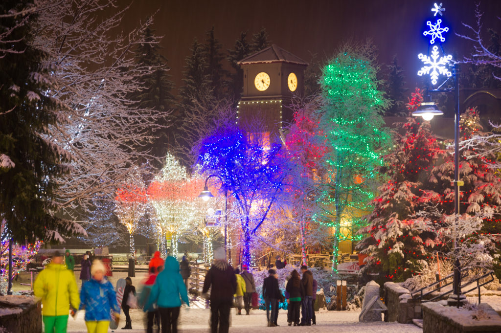 Whistler is home to so many exciting attractions during the holidays. PC: Tourism Whistler/Mike Crane