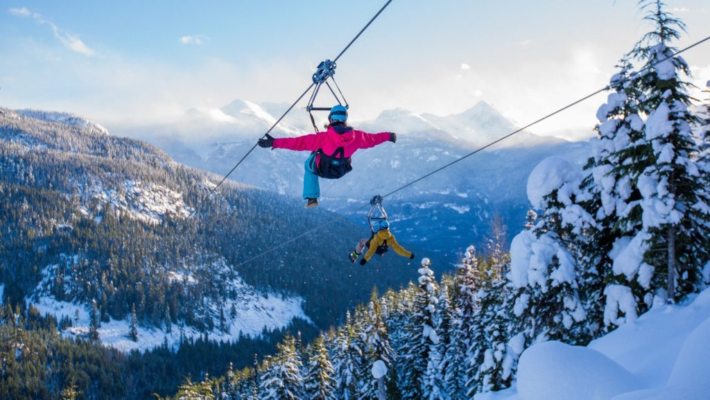 Head to Cougar Mountain and take flight with Superfly Ziplines. PC: Superfly.