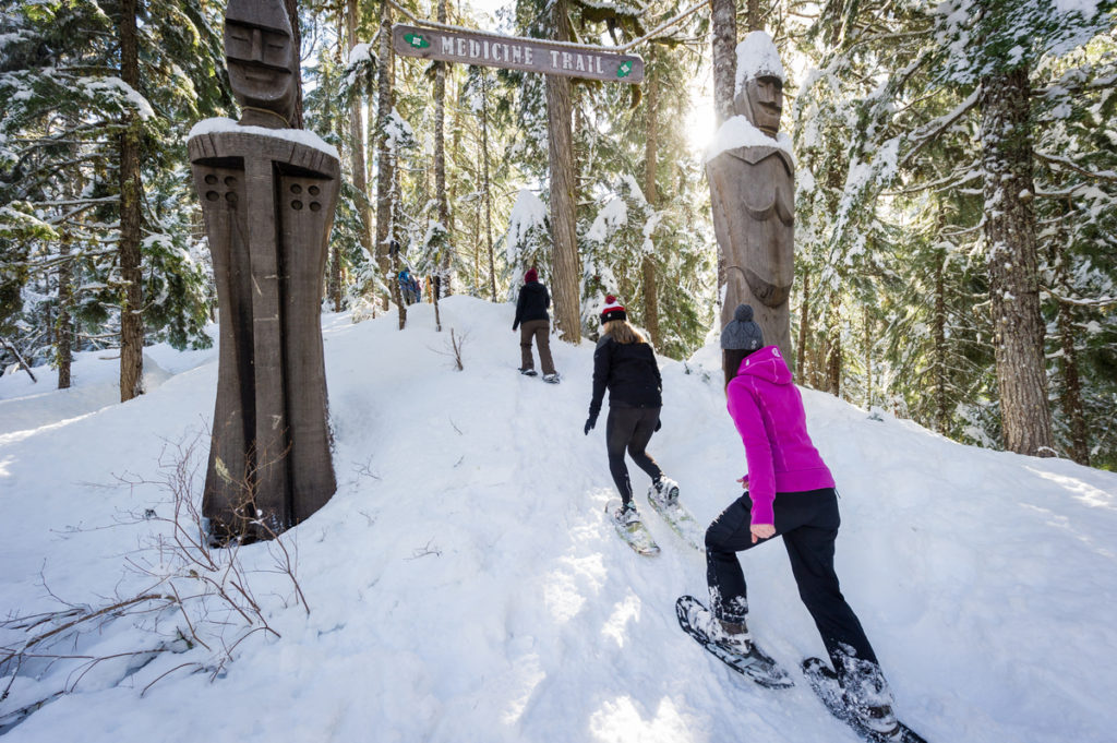 Callaghan Country is open for business! PC: Tourism Whistler/Mike Crane