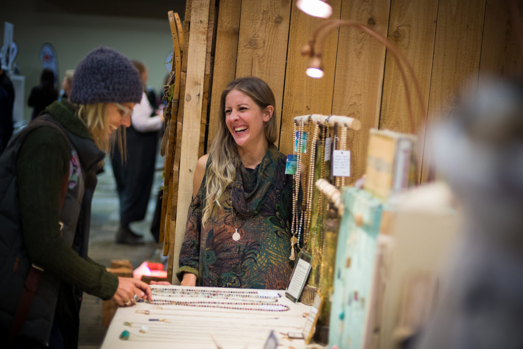 Be sure to check out the Made In Whistler Winter Artisan Market!  PC: Tourism Whistler/Mike Crane.
