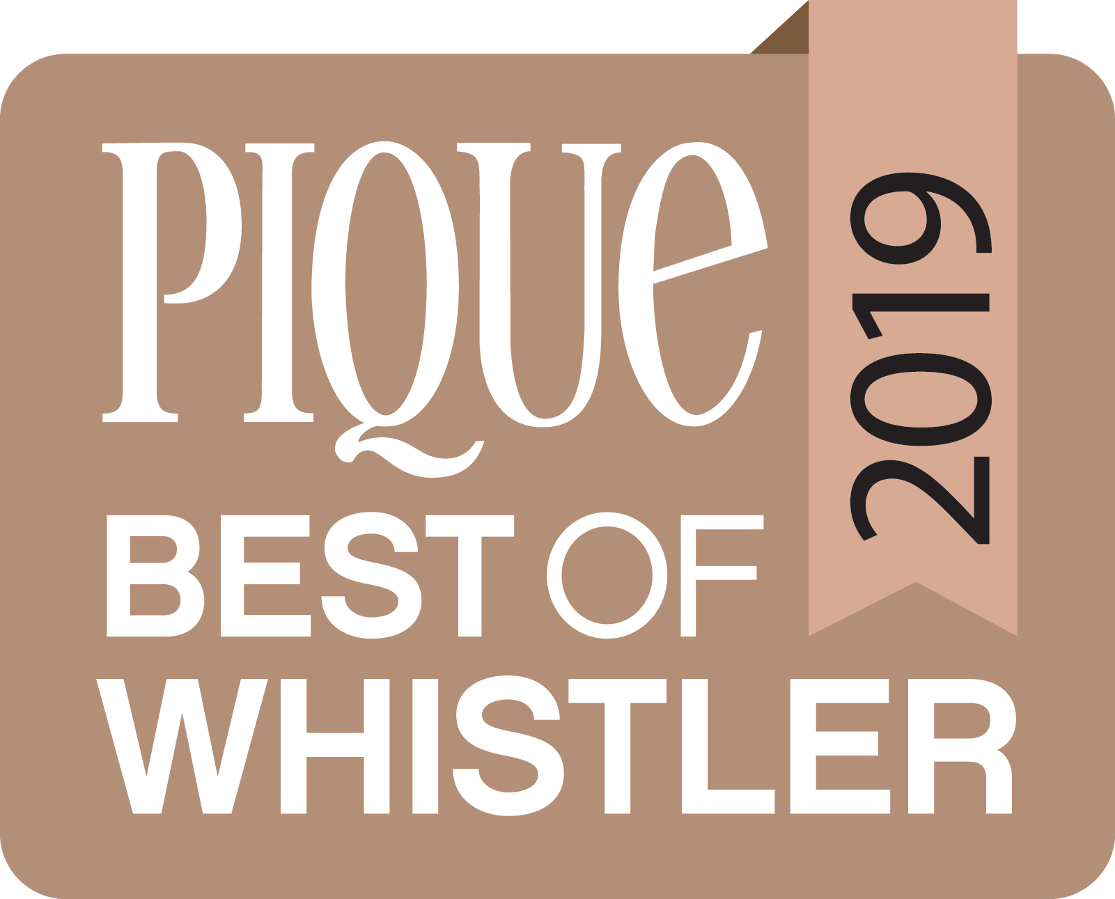 Pique Best of Whistler 2019