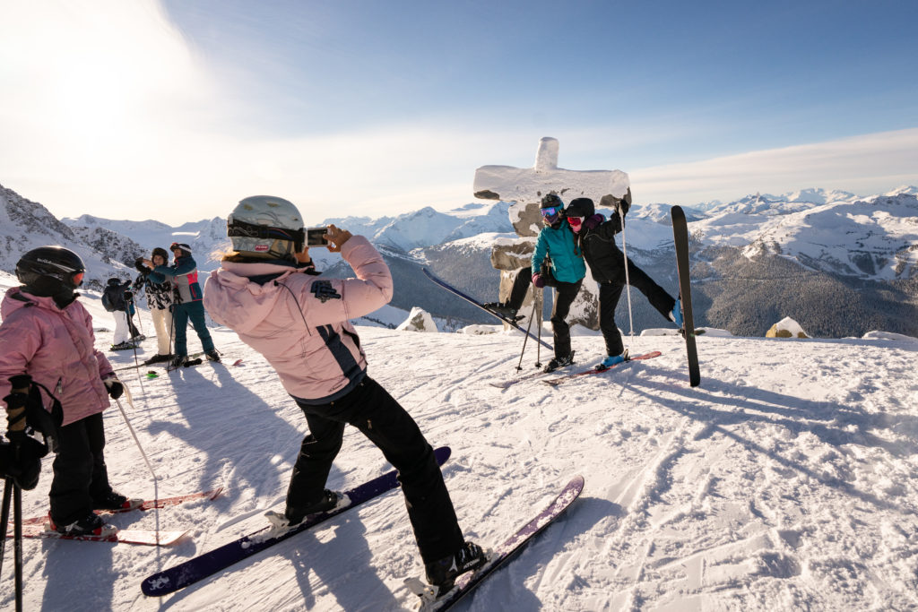 The Best Beginner Ski Runs Of Whistler Blackcomb. PC: Tourism Whistler/Vince Emond