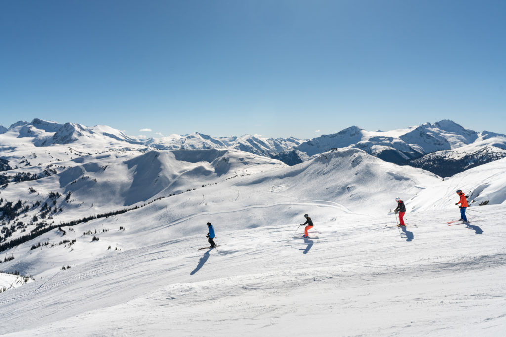 For many, simply skiing in Whistler is a check on the old bucket list. PC: Tourism Whistler/Vince Emond