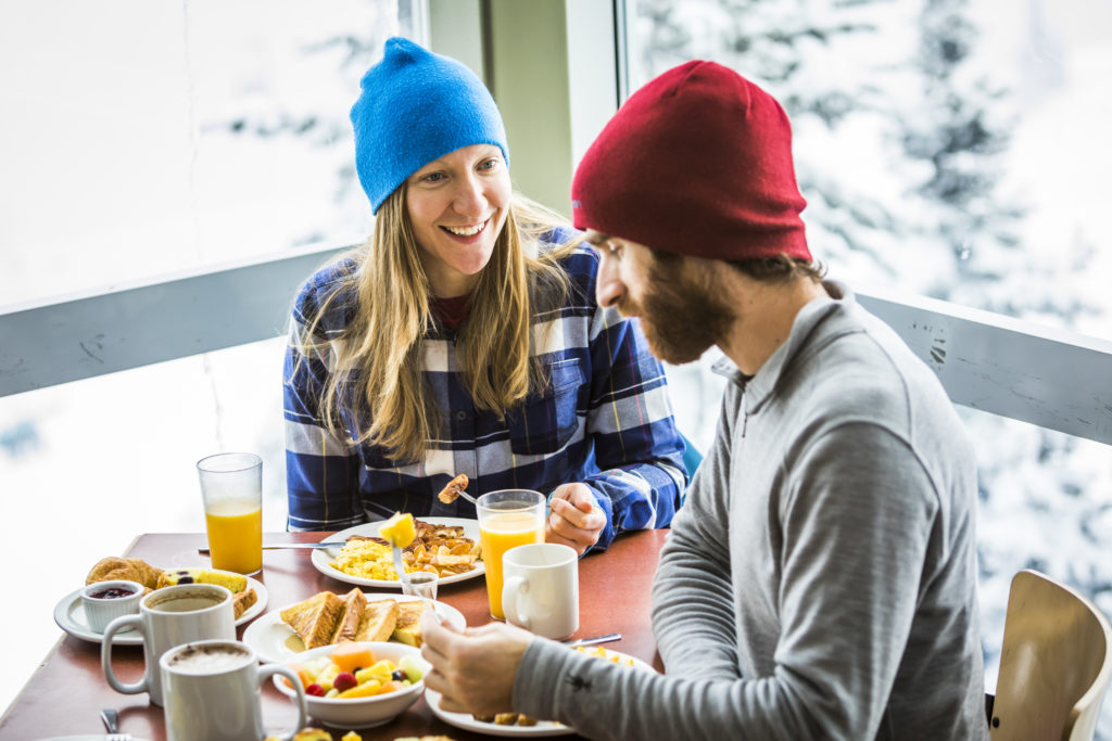 Don't snooze your alarm; breakfast in Whistler beckons!  PC: Tourism Whistler/Justa Jeskova