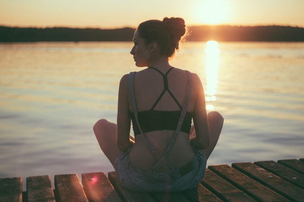 Deep breathing slows and regulates the heart rate.