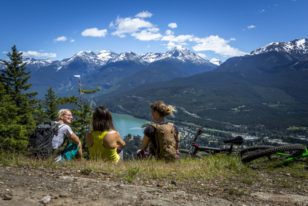 Thanks to the Whistler Valley Trail, everything is so accessible! PC: Tourism Whistler/Justa Jeskova.