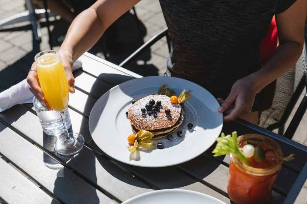 Don't snooze your alarm; breakfast in Whistler beckons!  Breakfast at Nita Lake Lodge captured by: Mirae Campbell