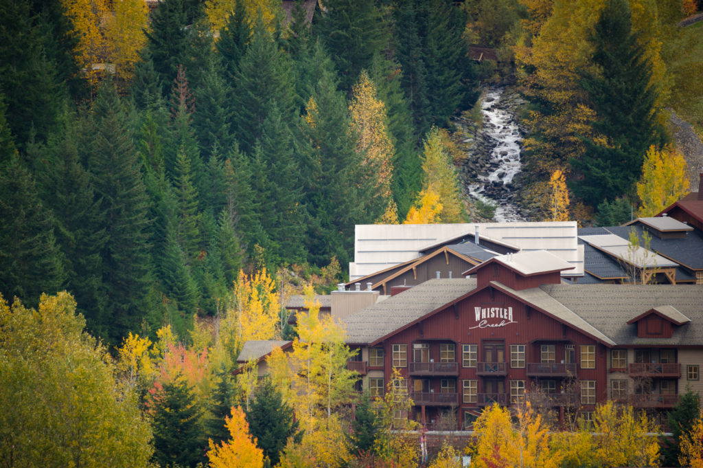 Whistler Creekside in Autumn