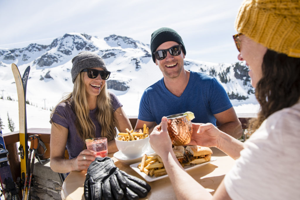 Lunch With A View In Whistler – Top 6 Places To Eat Photo by: Tourism Whistler/Kevin Arnold