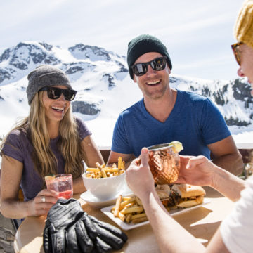 Lunch With A View In Whistler – Top 6 Places To Eat. Photo by Kevin Arnold.