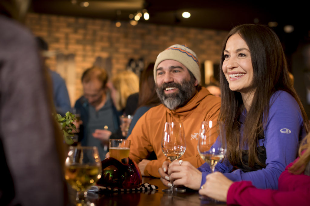 Après should be enjoyed with your household/bubble. PC: Tourism Whistler/Justa Jeskova