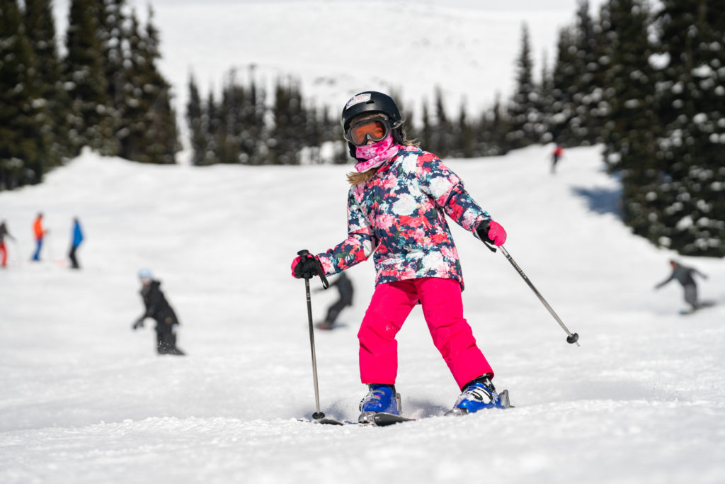 Face masks/coverings are required in the resort. PC: Tourism Whistler/Vince Emond