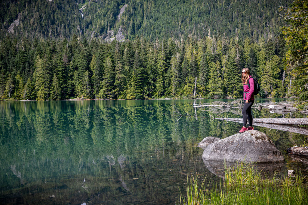 Loggers Lake itself is situated in an extinct volcano! Credit: Tourism Whistler/Mark Mackay