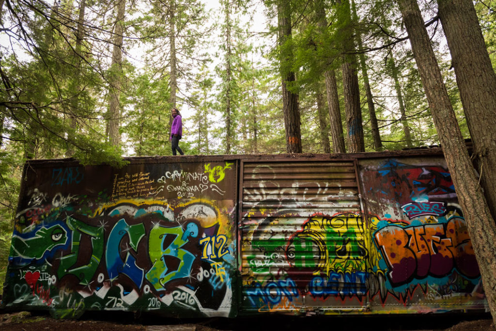 Whistler Train Wreck Hike. Credit: Tourism Whistler/Mike Crane