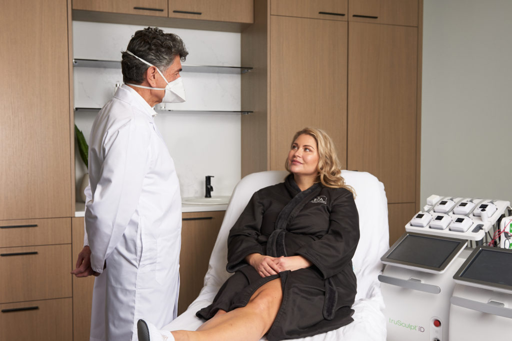 Dr. Wayne Smith's goal is to help clients age gracefully and beautifully.