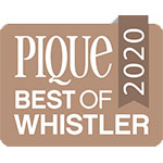 Pique Best Of Whistler 2020