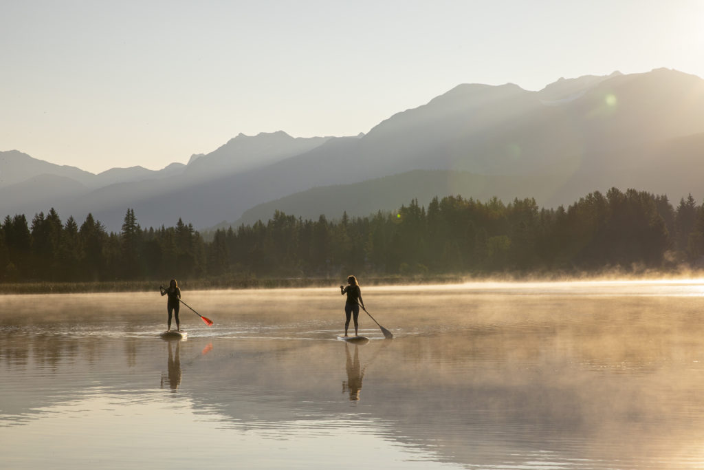 Summer In Whistler - Relax On The Water